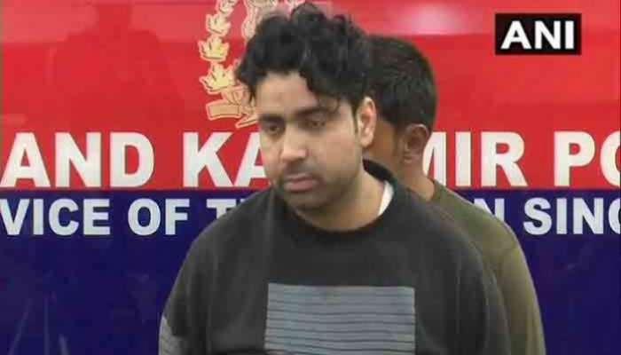 जम्मू काश्मिरात पाकिस्तानी दहशतवाद्याला अटक