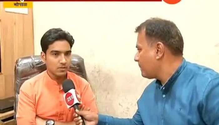 Bhopal Muslim Youth Gets threats For Praising Paragya Thaku