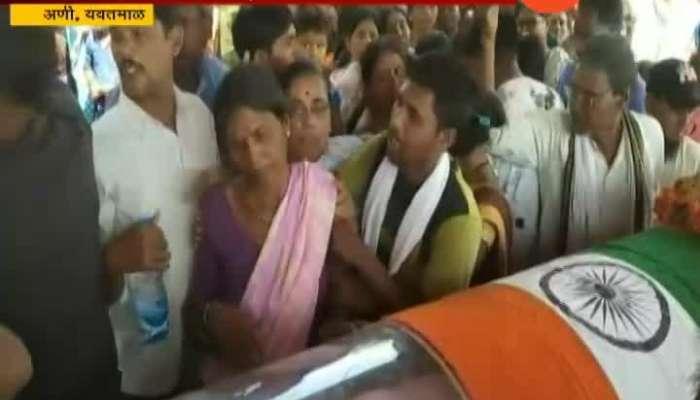 Jawan Agraman Bakshi Rahate Martyred In Gadchiroli Naxal Attack