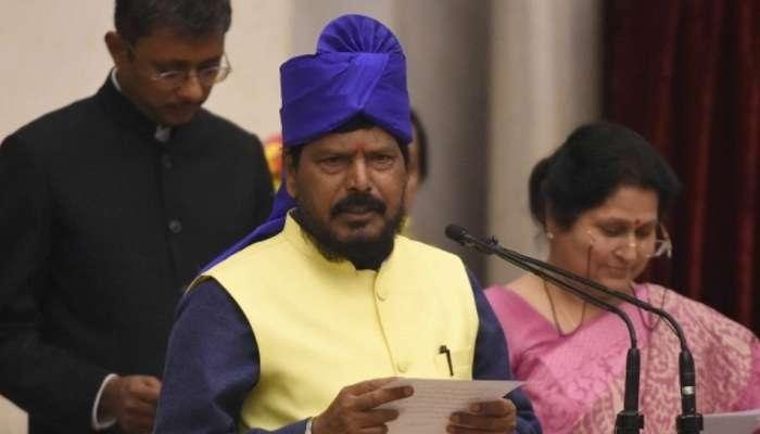 भाजपाला महाराष्ट्र-यूपीत कमी जागा, मी दुसऱ्यांदा मंत्री होणार - आठवले