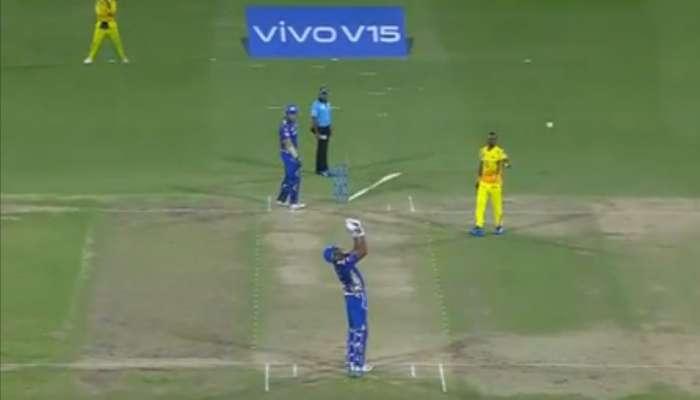 IPL 2019 VIDEO : ...अन् पंचांच्या निर्णयावर नाराज पोलार्डने उचललं 'हे' पाऊल
