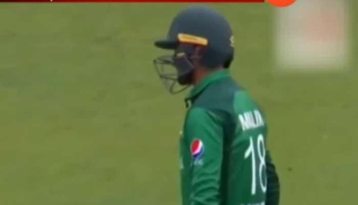 Shoaib Malik Hit Wicket Smashing Stumps With Bat Against England
