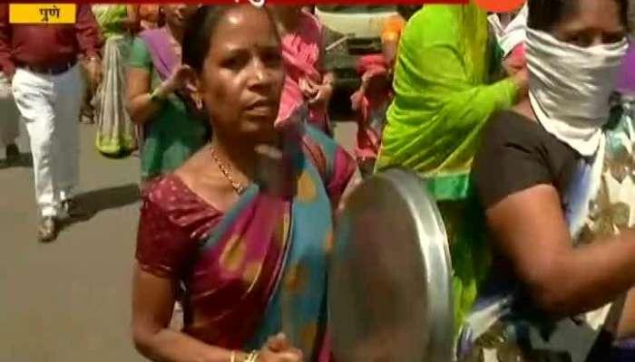 Pune NCP Party Womens Handa Morcha