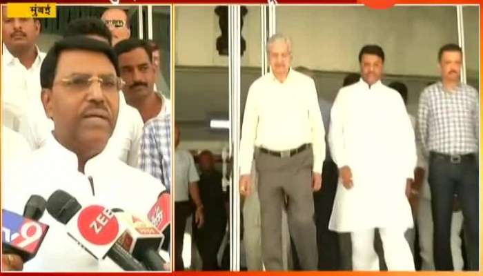 Mumbai NCP Leader Jaydutt Kshirsagar Submitted Resignation Of MLA At Vidhan Bhavan To Join Shivsena