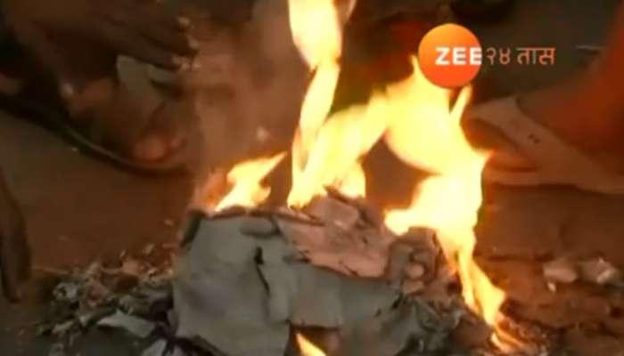 उष्णतेमुळे टीव्हीचा स्फोट, फ्रिजसह अन्य साधने जळून खाक