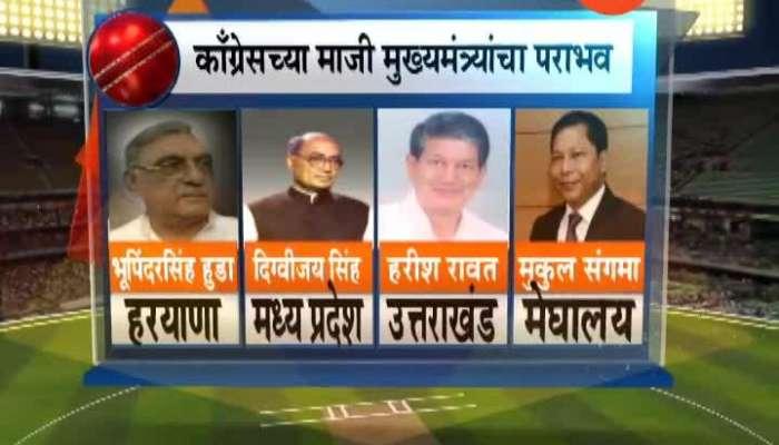 Congress Former CM Who Loss Lok Sabha Election 2019