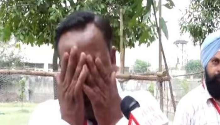VIDEO : पाच मतं मिळाल्यानंतर हमसून हमसून रडला उमेदवार