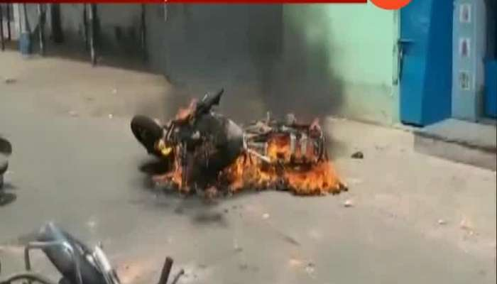 West Bengal After Mamtar Banerjee Loss Riot In City