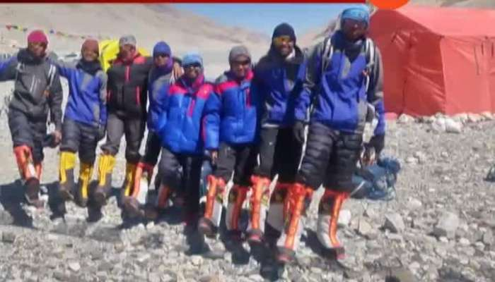 Nine Tribal Youth From Ashram Schools Of States Scale Mt Everest