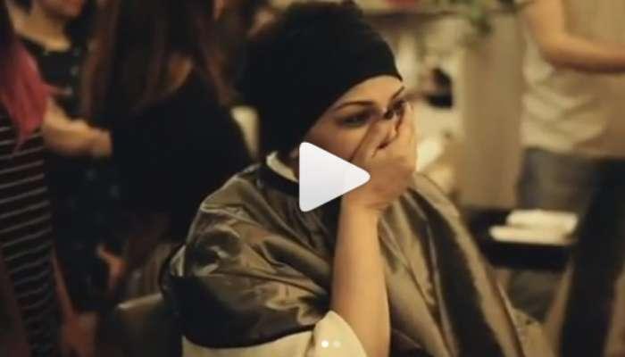 VIDEO : नवा मेकओव्हर पाहून सोनाली भावूक