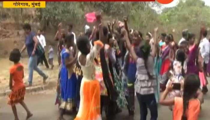 Mumbai,Goregaon Celebration In Adivasi Pada