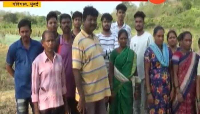 Mumbai People At Aarey Colony Oppose Zoo Project