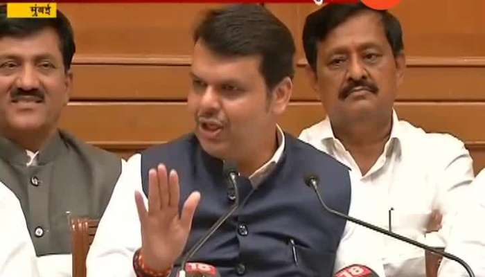 How Devendra fadnavis reacts on question are you feeling more powerful than Sharad Pawar