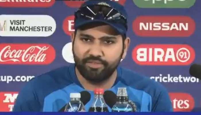 World Cup 2019 : पाकिस्तानचा प्रशिक्षक झालो तर... रोहितचं मजेशीर उत्तर