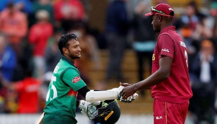 World Cup 2019 : बांगलादेशचा वेस्ट इंडिजला धक्का, ७ विकेटने विजय