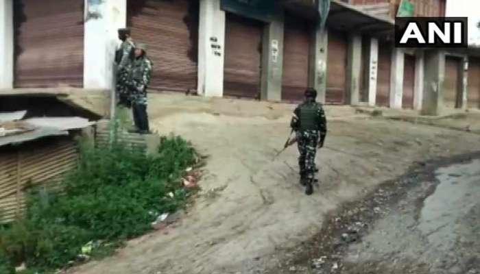 अनंतनागमध्ये सुरक्षाबलाने दहशतवाद्यांना घेरले