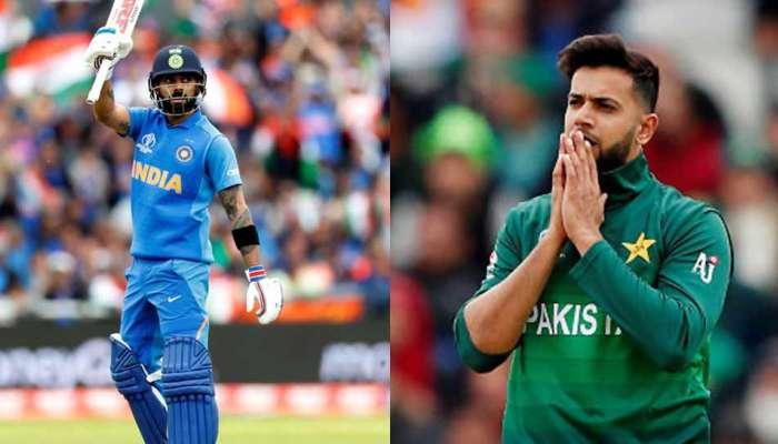World Cup 2019 : पाकिस्तानच्या बॉलरने हात जोडल्यावर विराट आऊट?