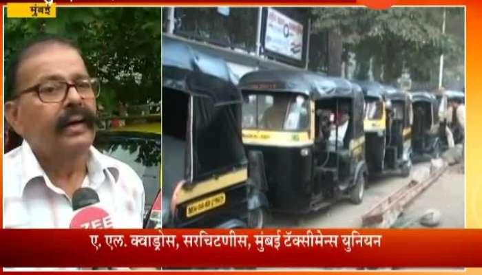 Mumbai Demand For Taxi And Rikshaw Fare Rise