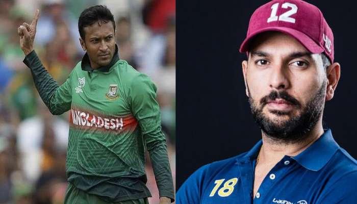 World Cup 2019 : शाकीब अल हसनचा विक्रम, युवराजचा रेकॉर्ड मोडला