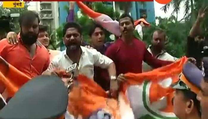 Mumbai BJP MLA Prasad Lad at Sofitel Hotel