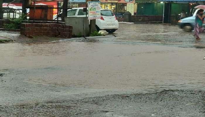 मुंबई - गोवा महामार्गावरची बंद पडलेली वाहतूक सुरु, खेड शहरात पुराचे पाणी