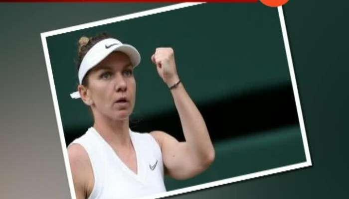 Simona Halep Beat Serena Williams In Final