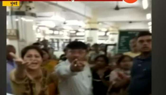patients relatives on beat doctor in nair hospital mumbai