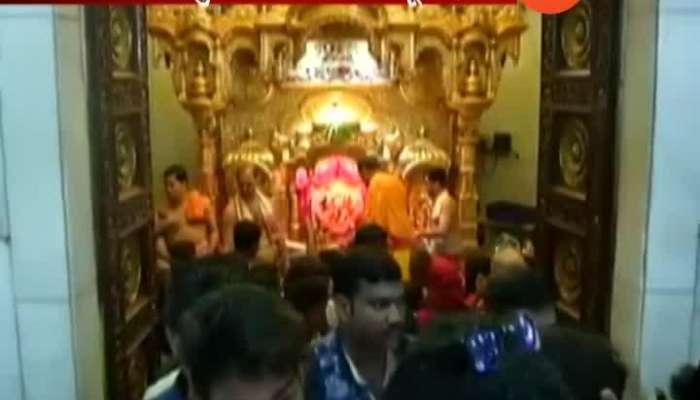 Siddivnayak tempal help of acident tiware dam victims in ratnagiri