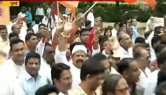 peek vima insurance on rally on shiv sena manohar joshi reaction