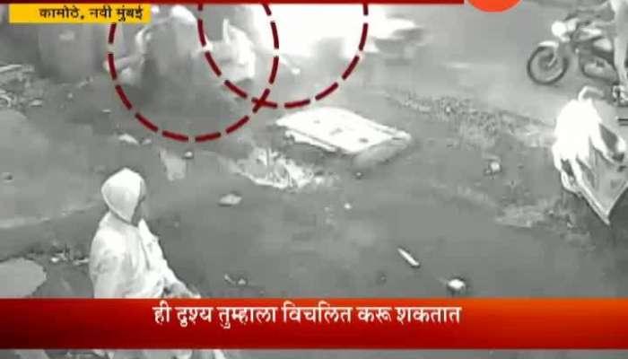 Navi Mumbai Kamothe Car Losses Control Runs Over Eight People