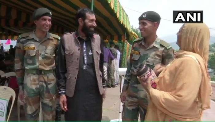 सलाम! शहीद औरंगजेबचे भाऊ भारतीय लष्करात दाखल