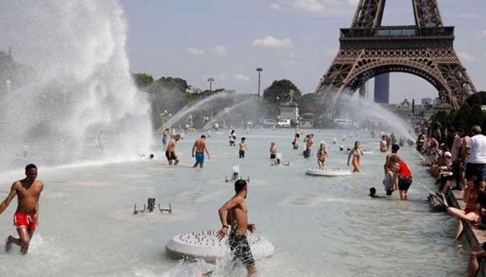युरोपात उष्णतेचा कहर, फ्रान्स-ब्रिटनमध्ये कडक उन्हाळा
