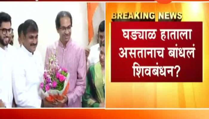 NCP Leader Sachin Ahir Joined Shiv Sena Without Resigning From NCP