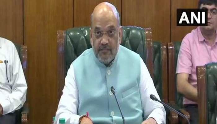 जम्मू-काश्मीर मुद्यावर गृहमंत्री शाहांची बैठक सुरू, मोठा निर्णय घेणार?