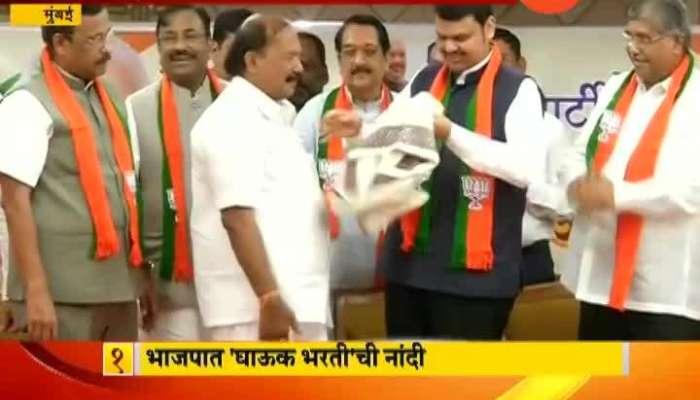 Mumbai Kalidas Kolambkar Join BJP Where He Was Suppose To Join Shiv Sena