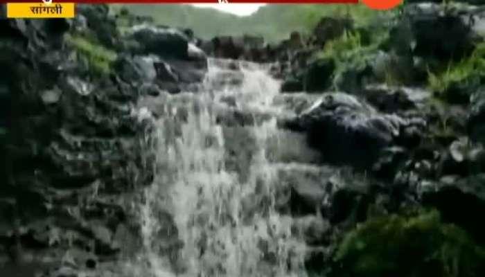 Sangli Taasgaon Drought Hit Village Now Having Beautiful Waterfall