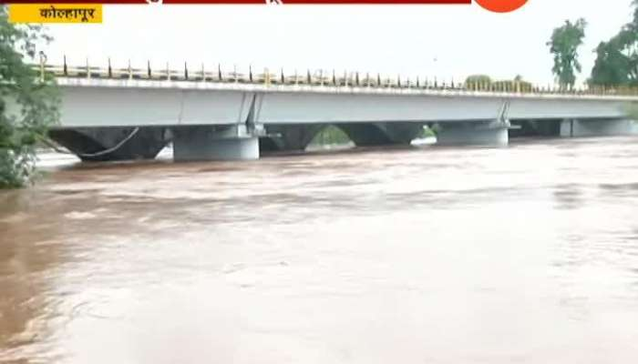 Kolhapur Flood Situation Getting Sever As Panchgana River Flowing Above Danger Level