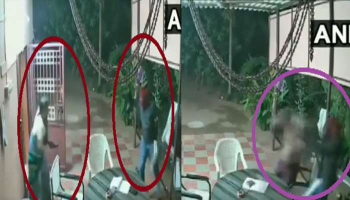 VIRAL VIDEO : चोरांच्या तावडीतून वृद्ध दाम्पत्यानं अशी करून घेतली सुटका