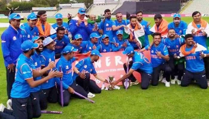 दिव्यांगांच्या वर्ल्ड सीरिज क्रिकेटमध्ये भारत विजयी