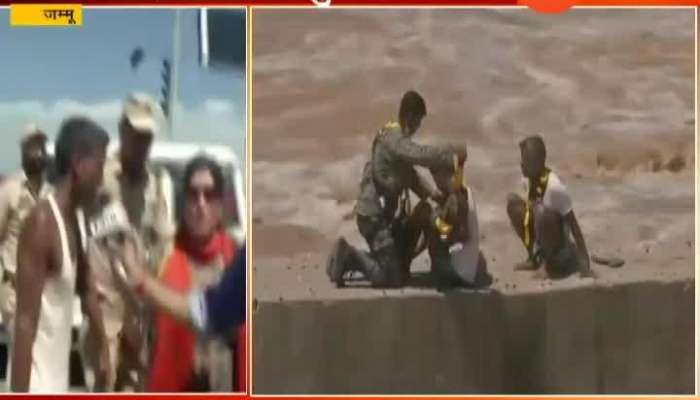 Jammu | Thriller Rescue Operation At Tawi River
