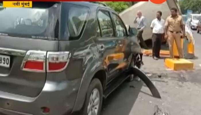 New Mumbai,Palm Beach Car Accident