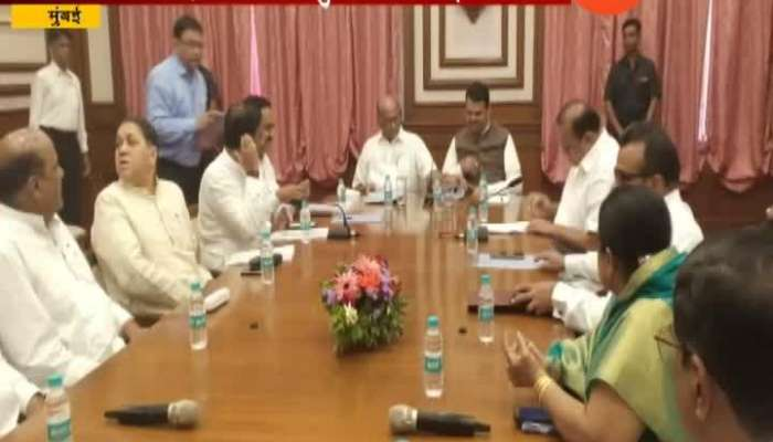 Mumbai Sharad Pawar Visit Cm Fadanvis For Discussion On Flood Help Update