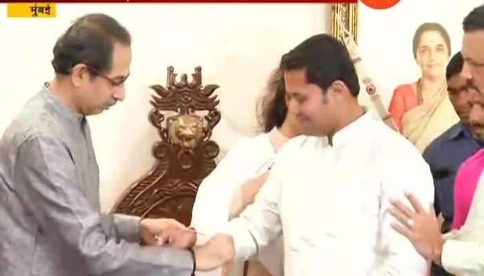 NCP Leader Nirmala Gavit And Rashmi Bagal Joins Shivsena