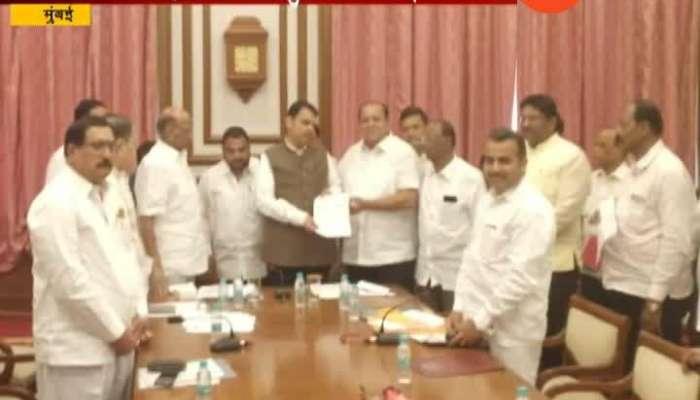 Mumbai   NCP Leader   Jayant Patil On Pawar Meet CM Devendra Fadnavis