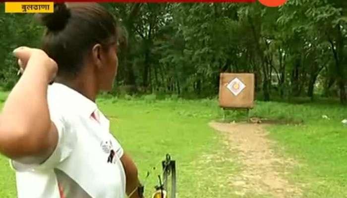 Buldhana Police Monika Jadhav won three gold medals including gold medal
