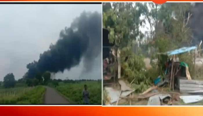 Major blast in  dhule chemical company 20 people died