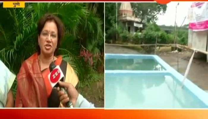 Pune Mayor Mukta Tilak Request To Do Visarjan In Artificial Lakes Created By Mahapalika