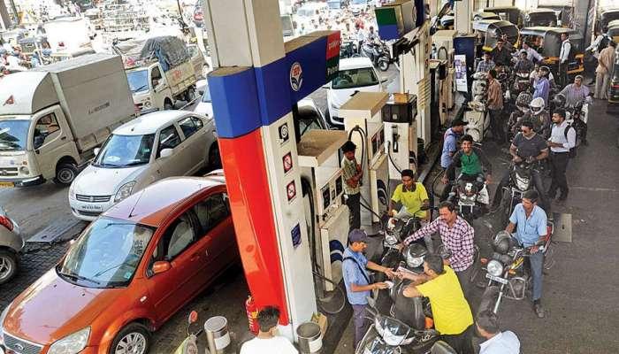 पेट्रोल-डिझेलच्या किंमती पुन्हा वाढल्या, पाहा आजचा भाव