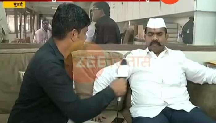 Mumbai Shiv Sena Leader Narendra Patil Willing To Contest Election Opposite Udyanraje Bhosale