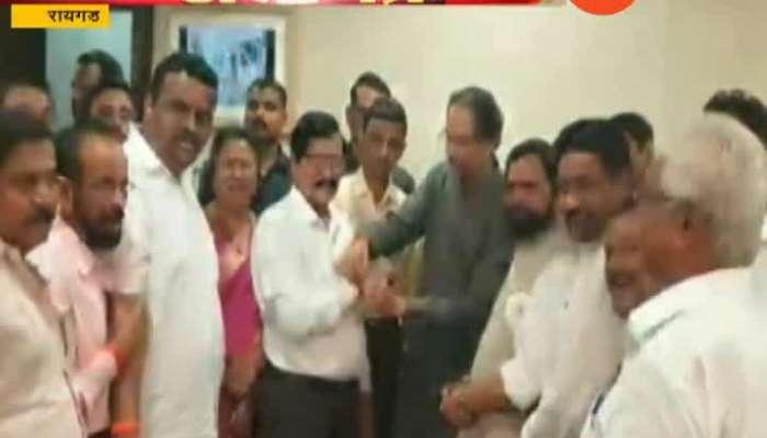 Raigad Vijayraj Khule Join sena 16 Sep 2019